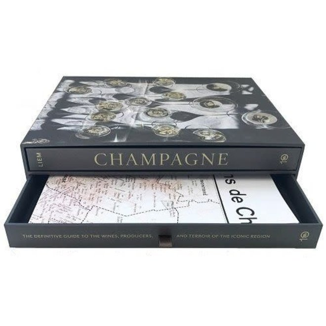 Champagne, Boxed Book & Map Set