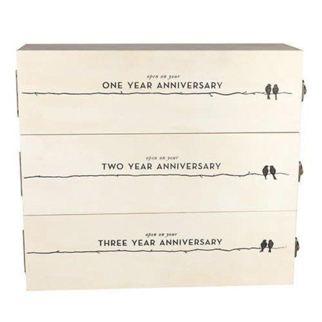 Anniversary Wine Box (3 bottle)