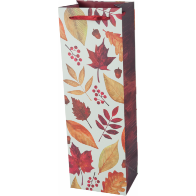 Autumn Leaf Wine Bag