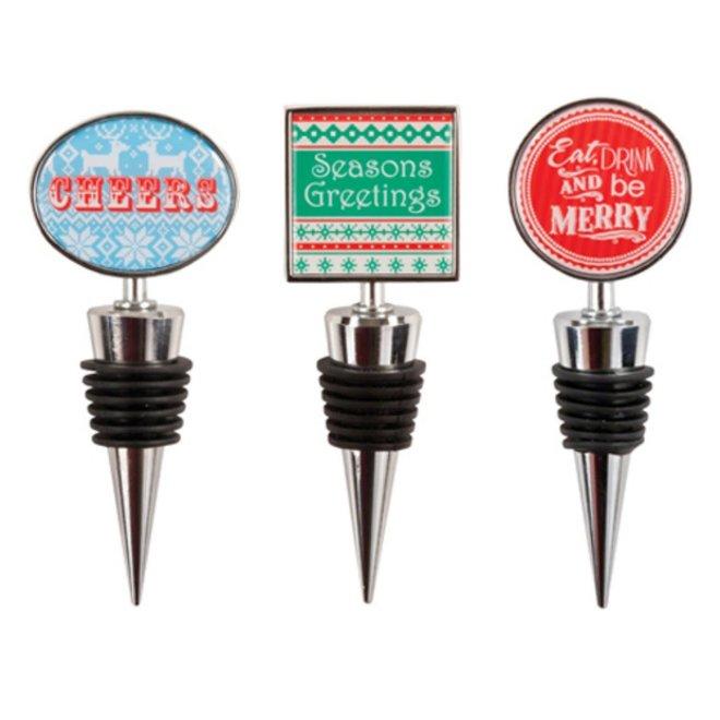 Yuletide: Holiday Bottle Stopper