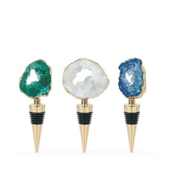 Gilded: Assorted Geode Stoppers