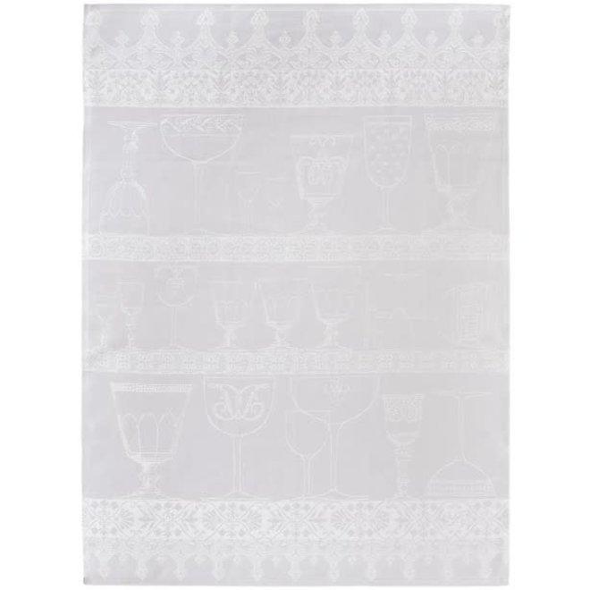Crystal Towel Cristal White 100% Linen