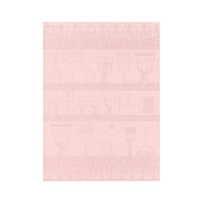 Crystal Towel Cristal Light Pink 100% Linen