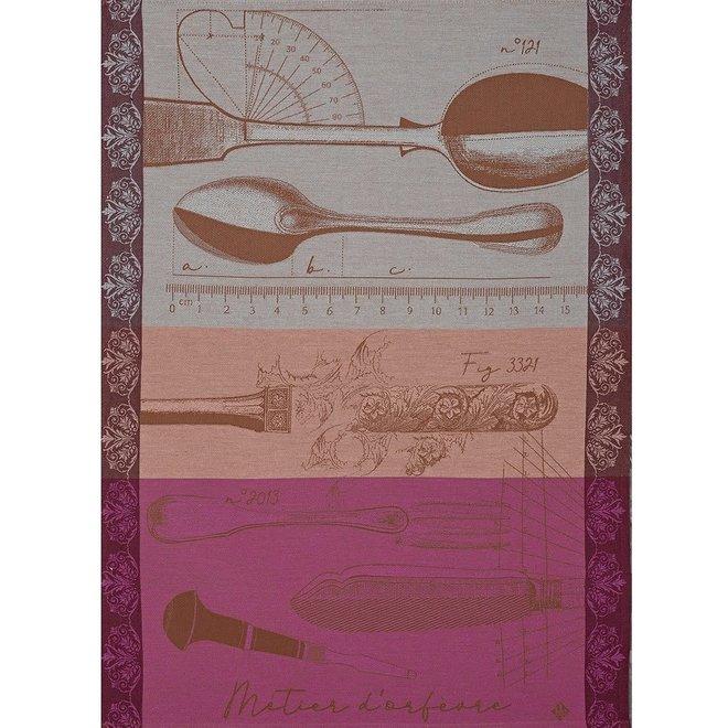 Metier D'orfevre Copper Tea Towel