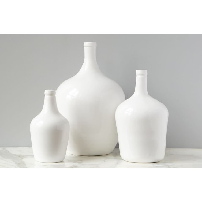 White Demijohn Medium