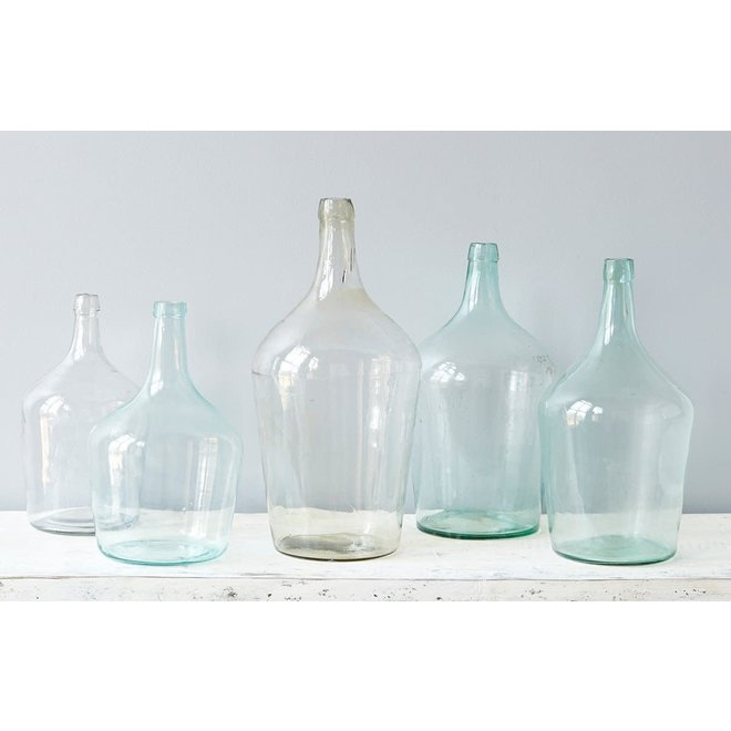 Found Glass Demijohn Medium