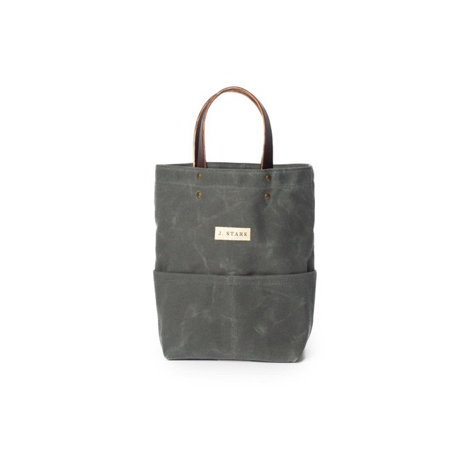 J. Stark Tremont Charcoal Wine Tote