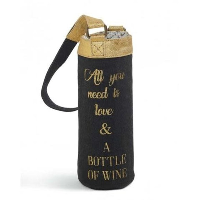 All You Need is Love Wine Tote