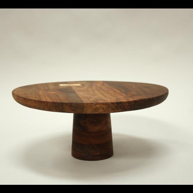 Mariposa Wood Pedestal Large