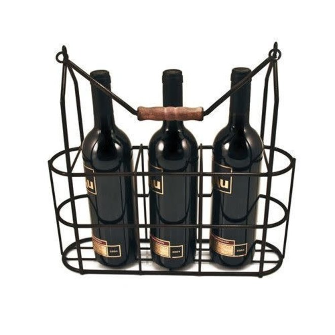 Downton Abbey Vintage 3 Bottle Carrier