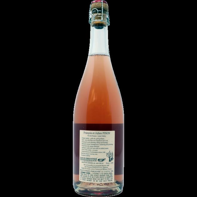 2018 Francois Pinon, Pétillant Naturel Rosé, Vin de France