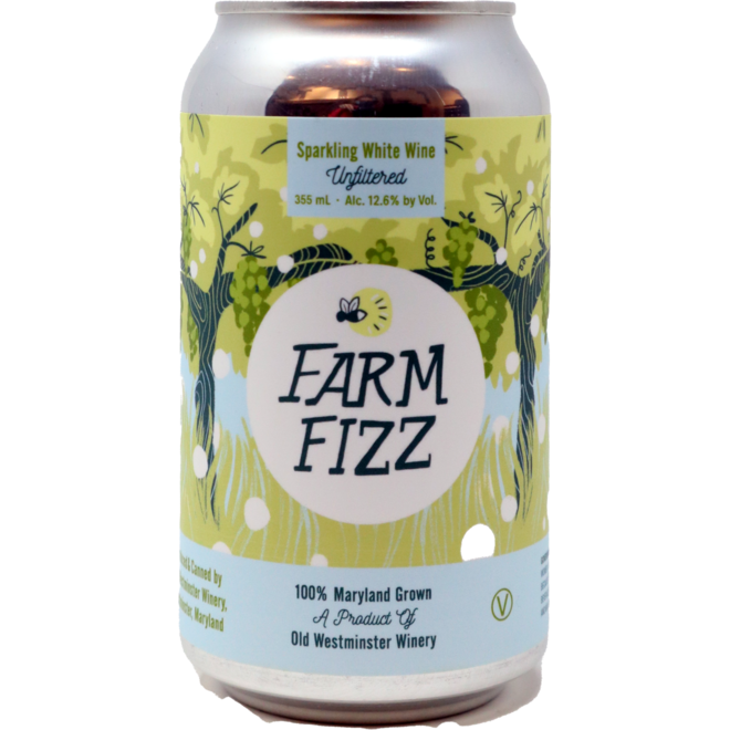 Old Westminster Farm Fizz Can - Maryland, USA Individual 355ml (can format)