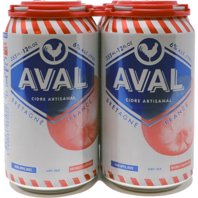 Aval Cider, Brittany, France  355mL Can
