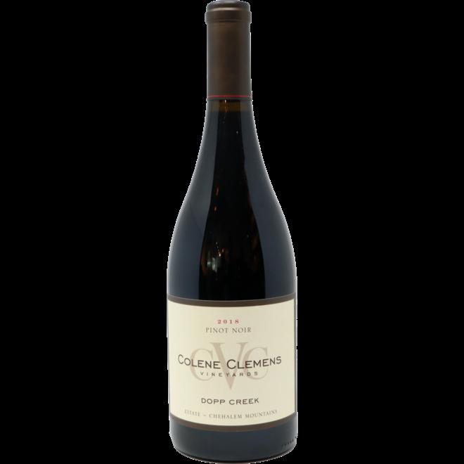 2018 Colene Clemens, Dopp Creek Pinot Noir, Chehalem Mountains, Oregon, USA