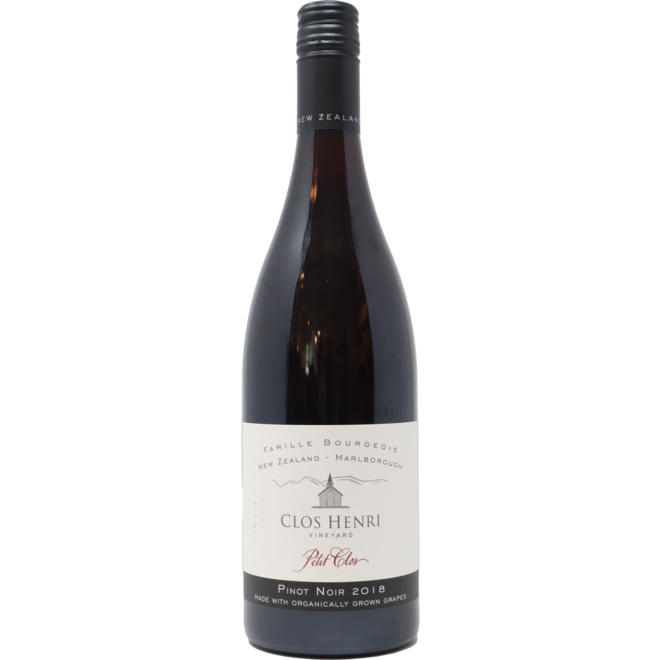 "2018 Clos Henri Vineyard ""Petit Clos"" Pinot Noir, Marlborough, New Zealand"