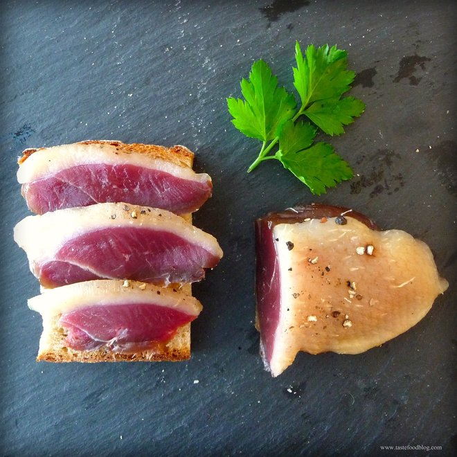 """The Spotted Trotter """"Duck Prosciutto"""" Sliced 3.0oz"""