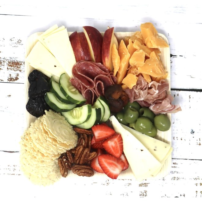 Gourmet Cheese & Charcuterie Platter for 2 (made to order)