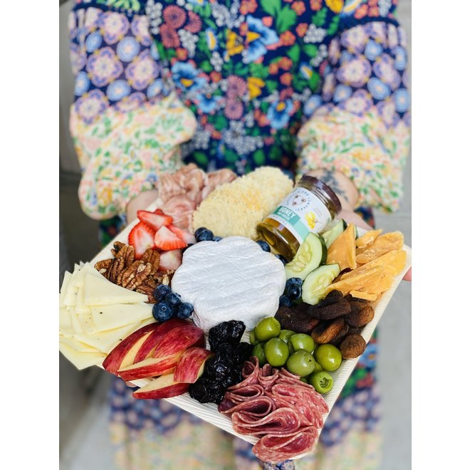 Gourmet Cheese & Charcuterie Platter for 4 (made to order)