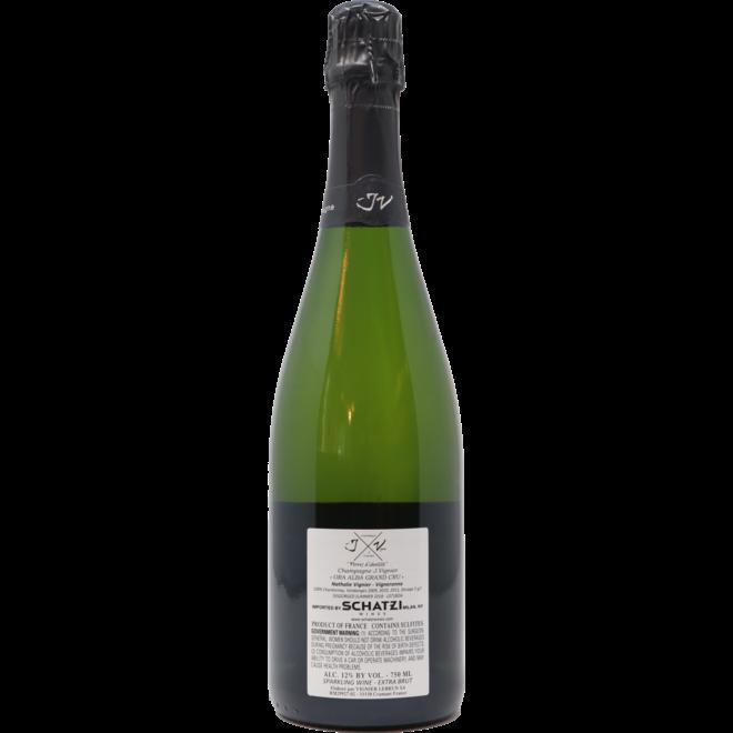 "NV J Vignier "" Ora Alba"" Blanc de Blancs Grand Cru Brut, Champagne, France"