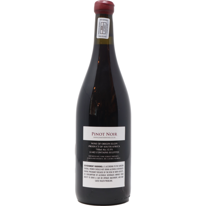 2017 J.H. Meyer, Palmiet, Pinot Noir, Eglin, South Africa