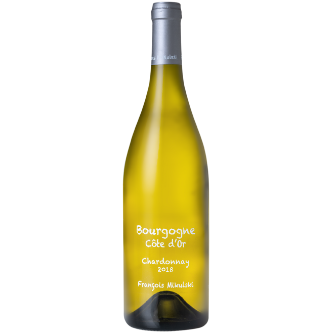 2018 Domaine Francois Mikulski, Bourgogne Blanc, Burgundy, France
