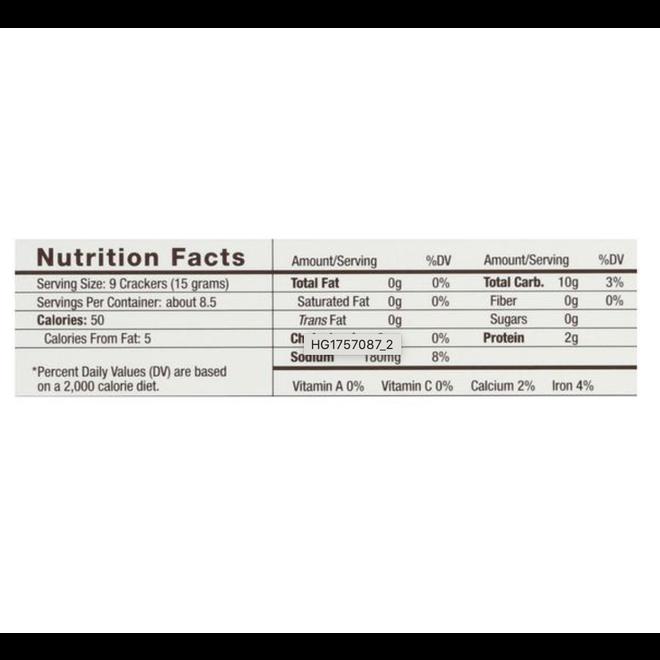 "34 Degrees ""Natural"" Crackers (4.5oz)"