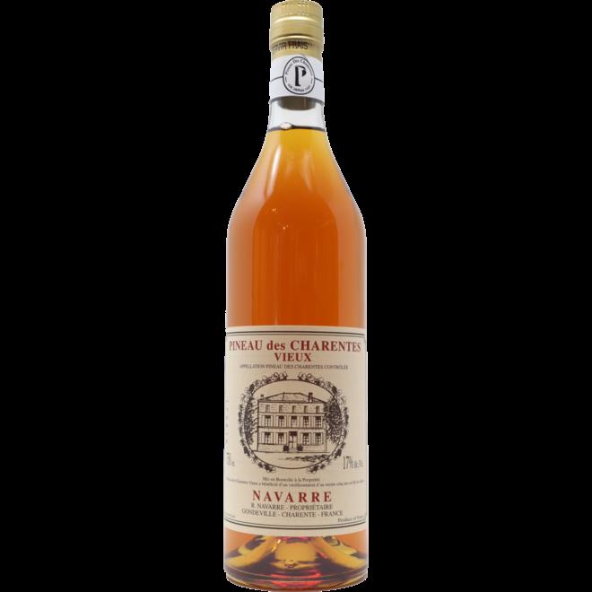 """NV Jacky Navarre """"Vieux"""" Pineau des Charentes, Cognac, France"""