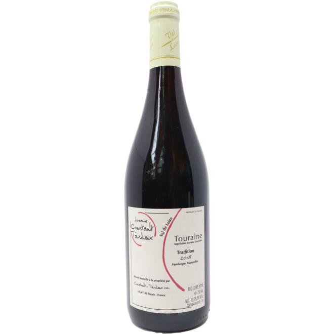 """2018 Domaine Courtault-Tardieux """"Tradition"""" Red, Loire Valley, France"""