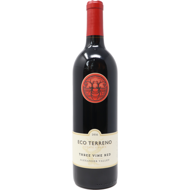 "2016 Eco Terreno ""Three Vine"" Red, Alexander Valley, California"