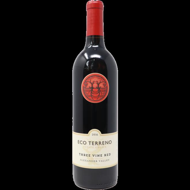 2016 Eco Terreno ''Three Vine'' Red, Alexander Valley, California