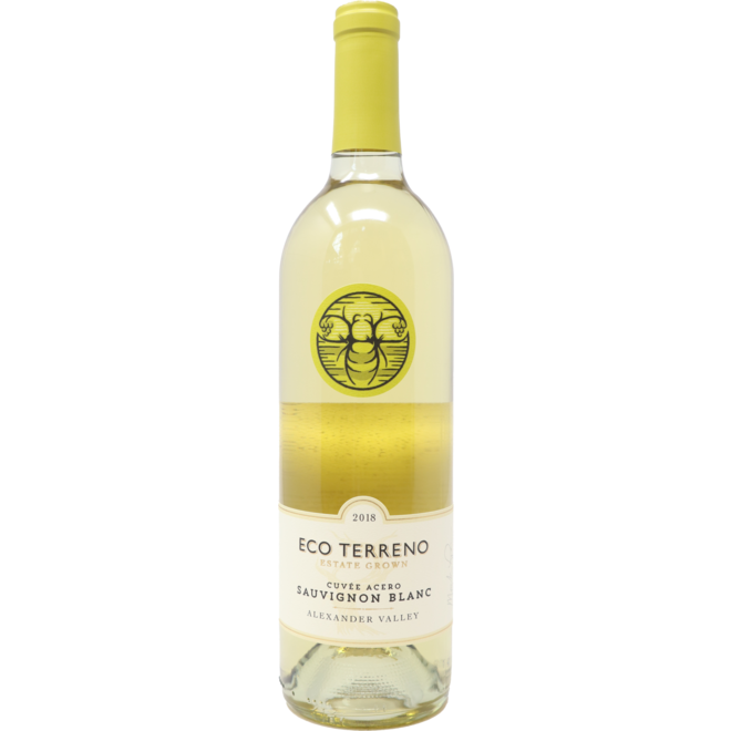 "2018 Eco Terreno ""Cuvee Acero"" Sauvignon Blanc, Alexander Valley, California"