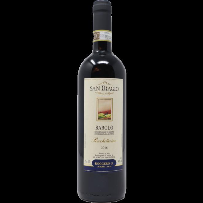 """2016 Azienda Agricola San Biagio Barolo """"Rocchettevino"""", Piedmont, Italy"""