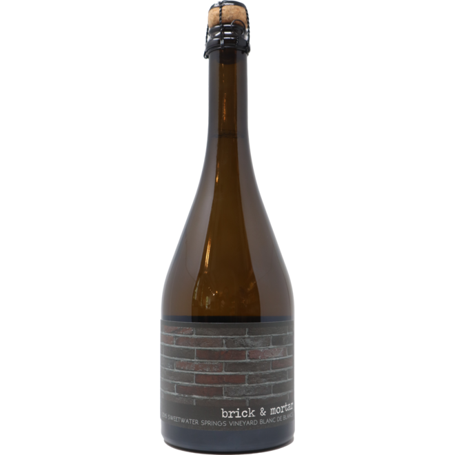 2015 Brick & Mortar Sweetwater Springs Vineyard Blanc de Blancs, Russian River Valley, USA