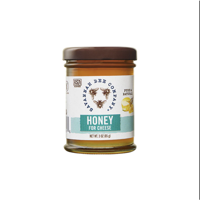 Savannah Bee  Honey  For Cheese 3oz Jars