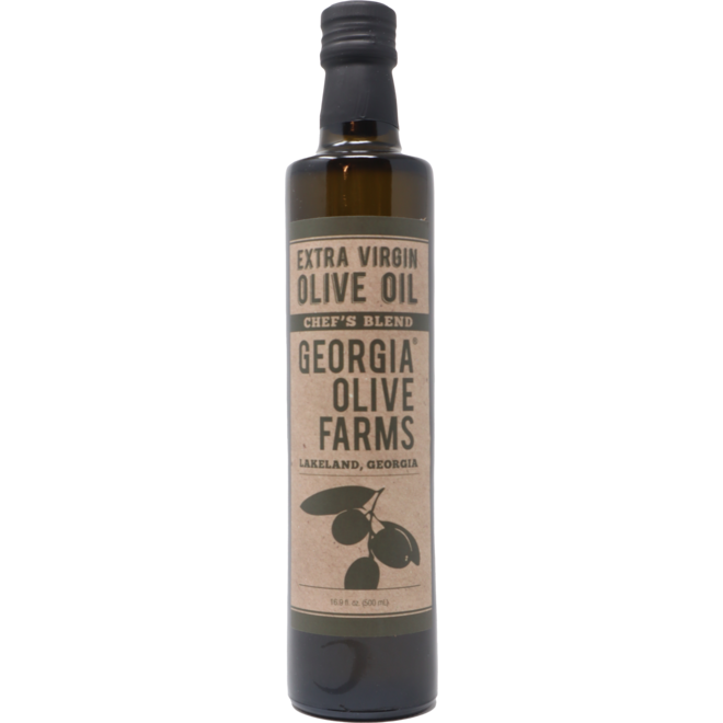 Georgia Olive Farm 'Chef's Blend' EVOO, USA 500ml