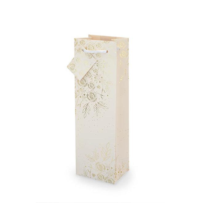 Floral Lace Wine Bag