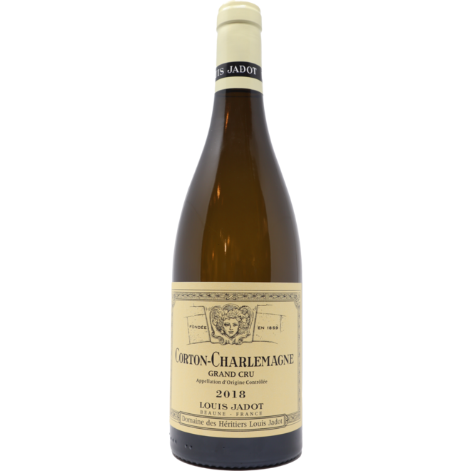 2018 Jadot Domaine des Heritiers Corton Charlemagne Grand Cru, Burgundy France