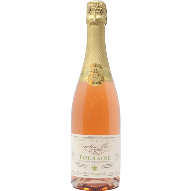 NV Charles Bove Sparkling Rose, Touraine, Loire Valley, France