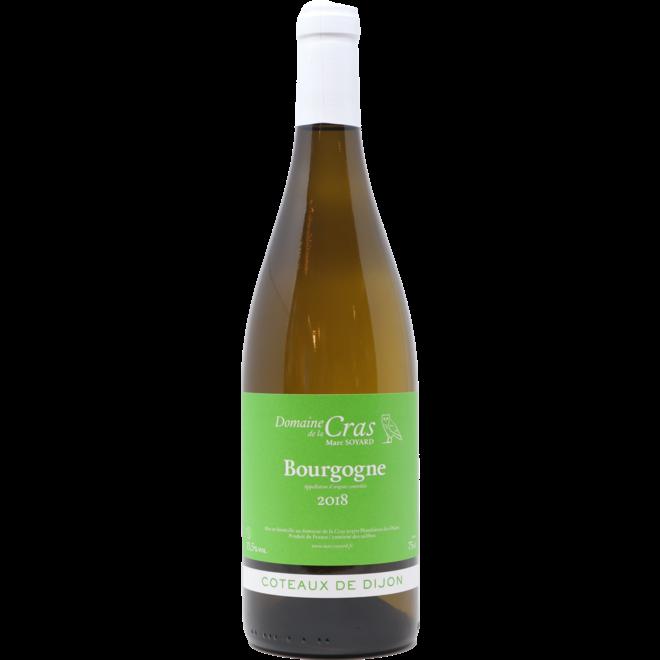 """2018 Domaine de la Cras """"Coteaux de Dijon"""" Bourgogne Blanc, Burgundy, France"""