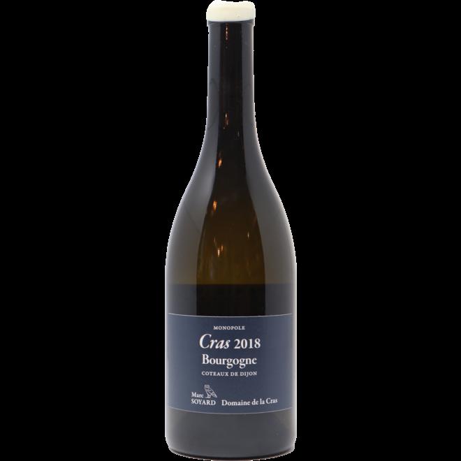 """2018 Domaine de la Cras Coteaux de Dijon """"Cras"""" Bourgogne Blanc, Burgundy, France"""