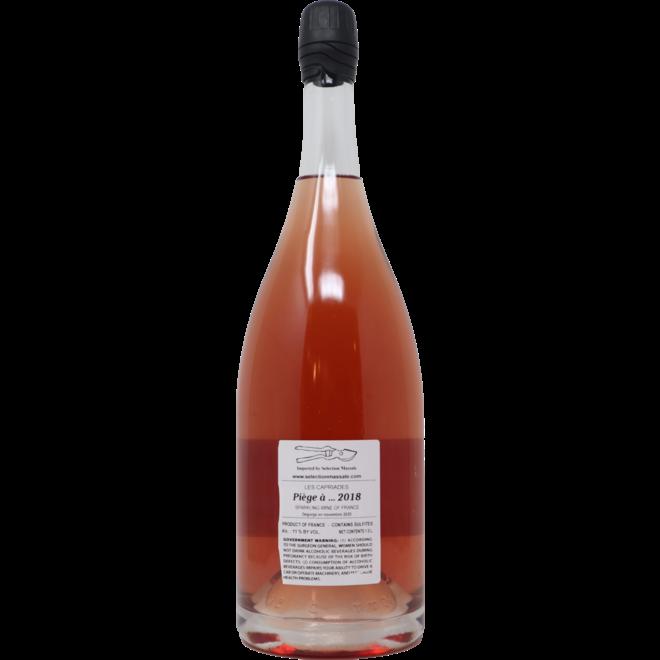 2018 Les Capriades 'Piège à Filles' Rosé Petillant Naturel, Loire Valley, France 1.5L Magnum