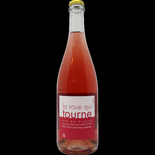 2019 Marie Thibault 'La Roue qui Tourne' Pétillant Naturel Rosé - Touraine-Azay-le-Rideau, Loire Valley, France