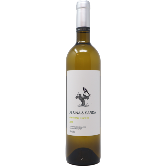 2019 Alsina & Sardà Chardonnay + Xarel-lo, Penedès, Spain