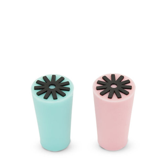 Starburst Silicone Stoppers Set of 2