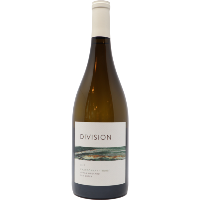 "2018 Division Wine Co. ""Trois"" Chardonnay, Willamette Valley, Oregon"