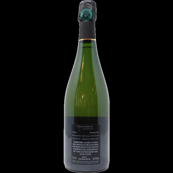 "2014 Thomas Perseval Montagne de Reims 1er Cru ""Tradition"", Champagne, France"