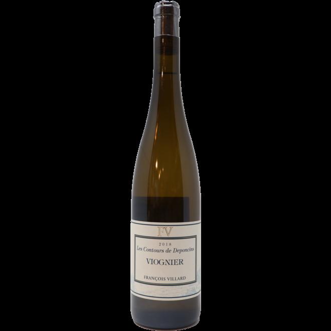 """2018 Domaine Francois Villard Vin de Pays """"Les Contours de Deponcins"""" Viognier, Rhone Valley, France"""