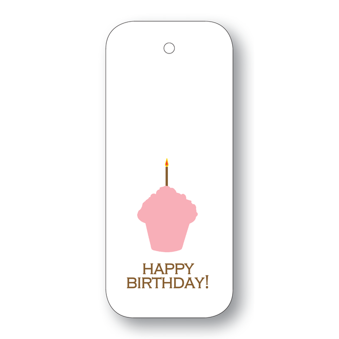 Maison de Papier Wine Tags Happy Birthday Cake