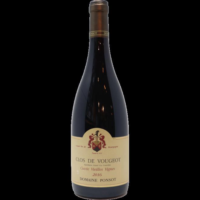 """2016 Domaine Ponsot Clos de Vougeot Grand Cru """"Cuvée Vieilles Vignes"""", Burgundy, France"""