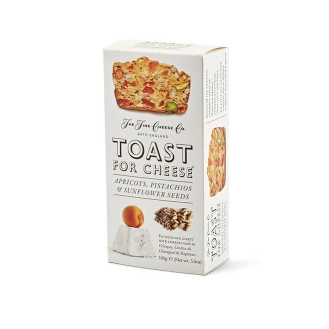 Toast for Cheese Apricots, Pistachios & Sunflower Seeds (3.5 oz)